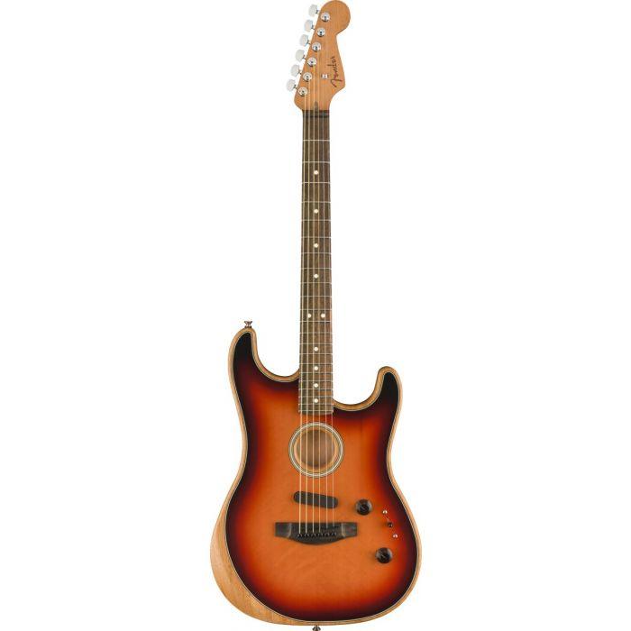 Fender American Acoustasonic Stratocaster 3-Colour Sunburst