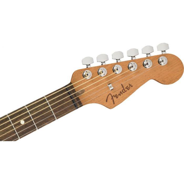 Fender American Acoustasonic Strat 3TS Headstock