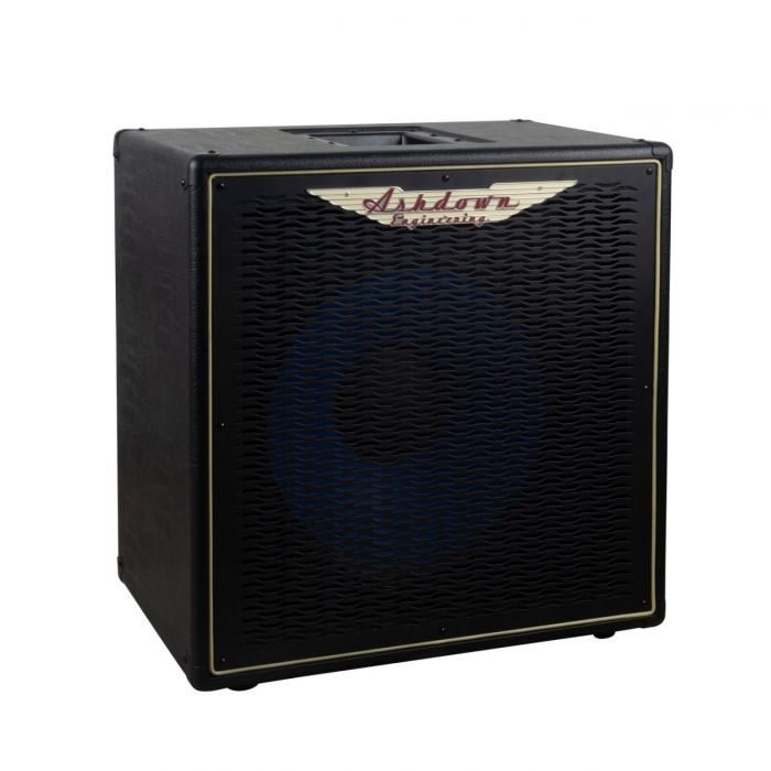 Front angled view of a Ashdown ABM 115H-EVO IV-PRO Neo Bass Cabinet