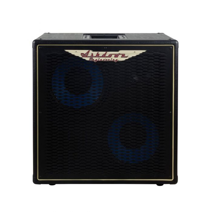Full frontal view of a Ashdown ABM-210H-EVO IV-Pro Neo Bass Cabinet