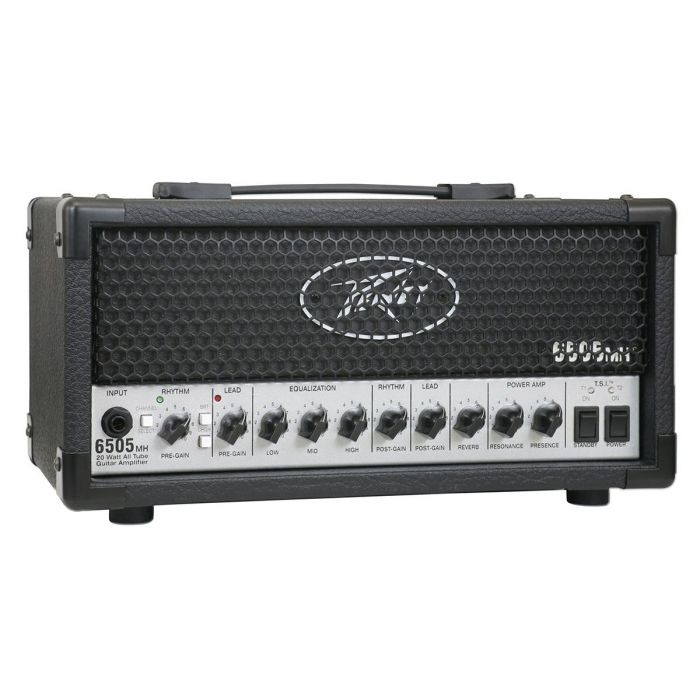 Front right angled view of a Peavey 6505 Micro Head Guitar Amplifier