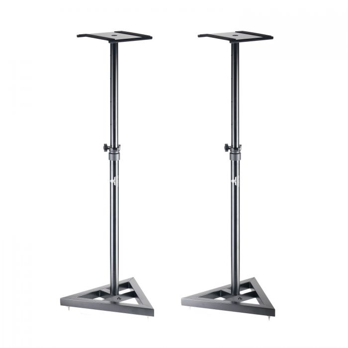 Two Height Adjustable Monitor Stands