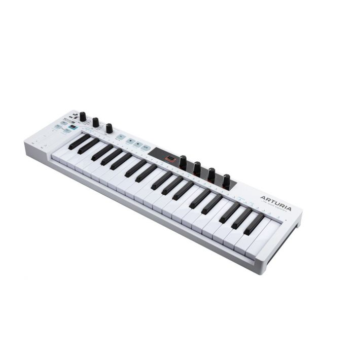 Angled View of Arturia Keystep 37 MIDI Controller