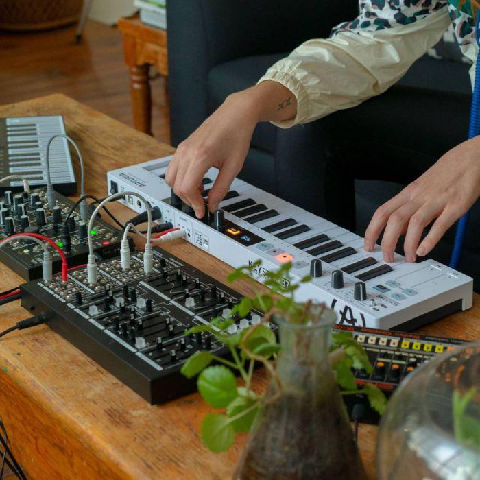 Arturia Keystep 37 MIDI Controller In Use