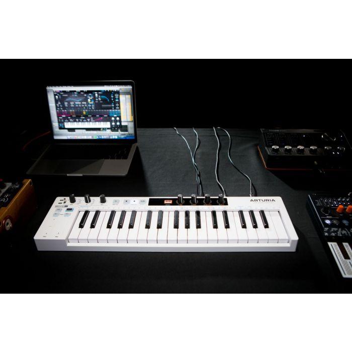 Arturia Keystep 37 MIDI Controller In The Studio