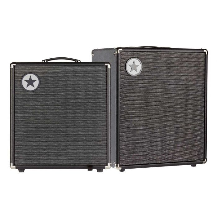 View of Both Blackstar Unity 120 Bass Amp and Unity 250 Active Cabinet