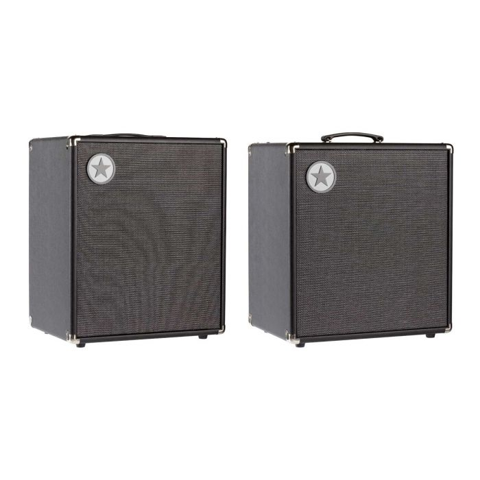Angled View of Blackstar Unity 250 Bass Amp and Unity 250 Active Cabinet