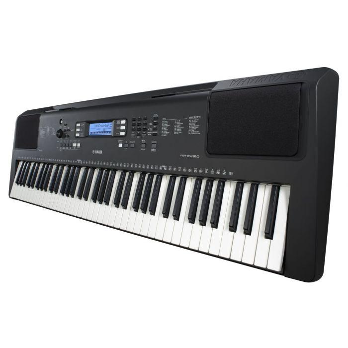 Side Angled View of Yamaha PSR-EW310 Portable Keyboard