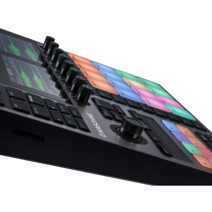 Side View of Native Instruments Maschine Plus