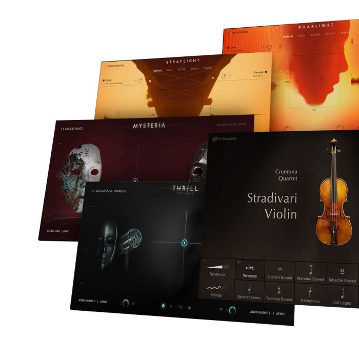 25 Orchestral and Cinematic Instruments