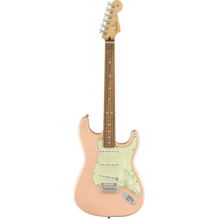 Fender Limited Edition Player Stratocaster Shell Pink Front View