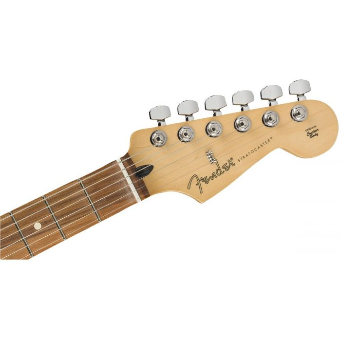 Fender Limited Edition Player Stratocaster Shell Pink Headstock Front