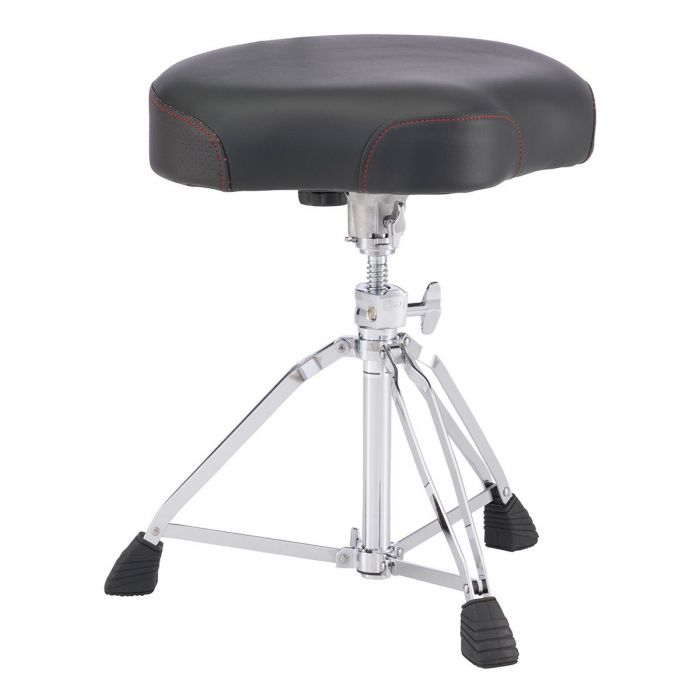 Full view of a Pearl Roadster Multi-Core Saddle Drum Throne