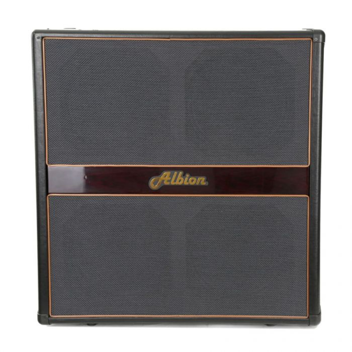Front view of a Albion GLS412 4x12 Guitar Speaker Cabinet
