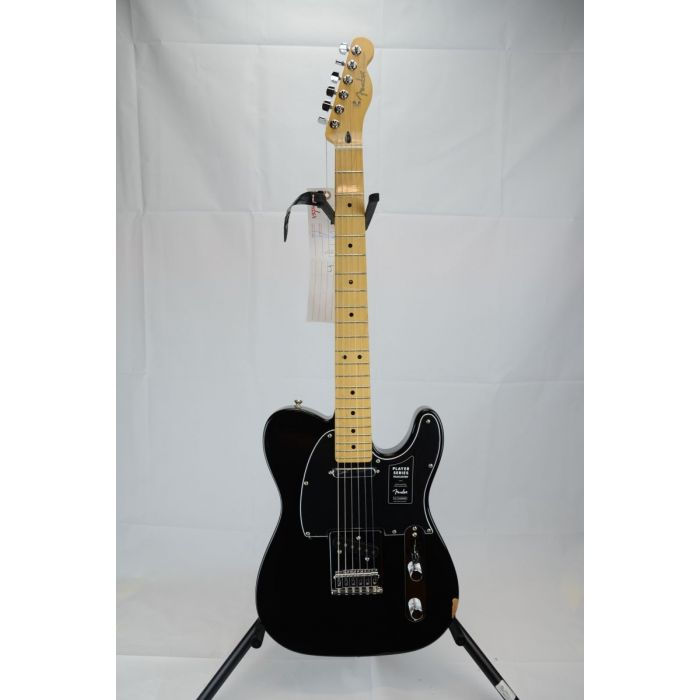 Full frontal view of a B-Stock Fender Player Telecaster MN, Black