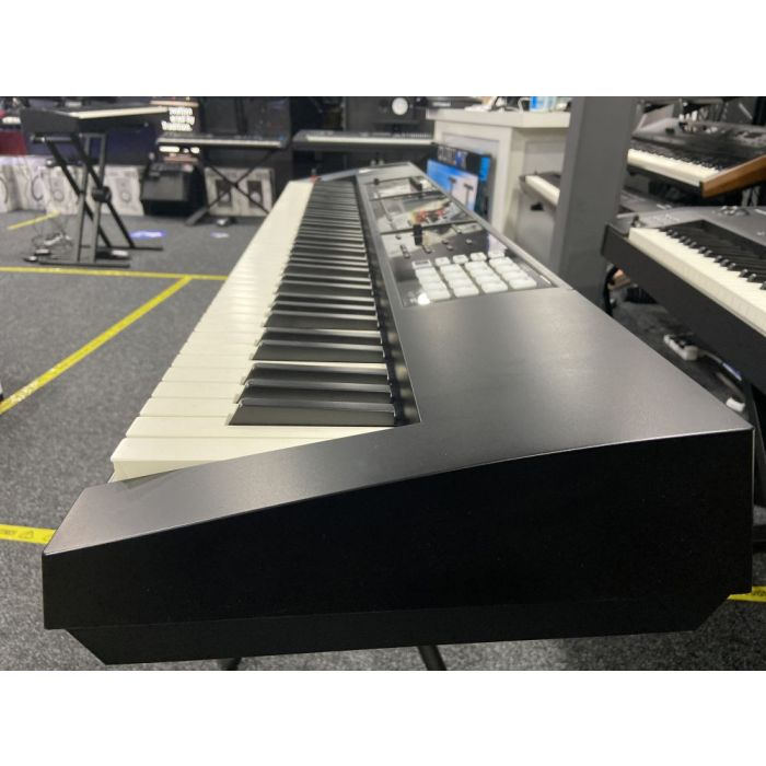 Side-on view of a B Stock Roland Fantom FA-08 Music Synthesizer Workstation
