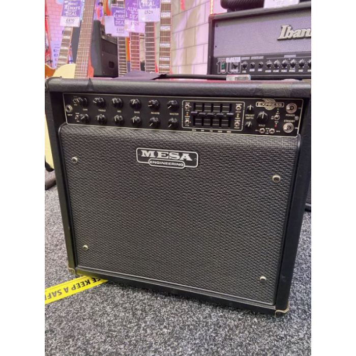 Full frontal view of a B Stock Mesa Boogie Express 5:25 Plus Combo Amp