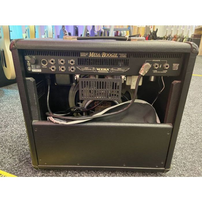 Full rear view of a B Stock Mesa Boogie Express 5:25 Plus Combo Amp