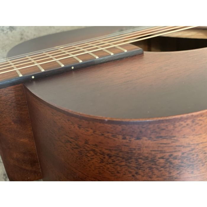 B-Stock Martin D-15M Burst Acoustic Guitar Body Detail