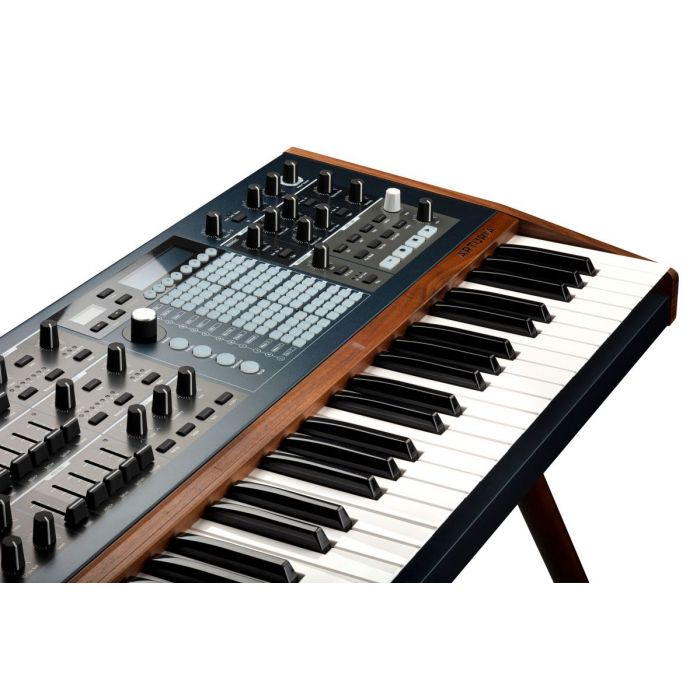 Arturia PolyBrute Analog Synth Controls and Keyboard