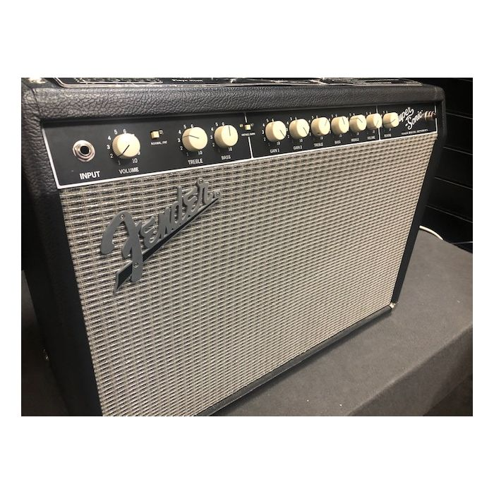 B Stock Fender Super-sonic 22 Combo Black Angled Front View