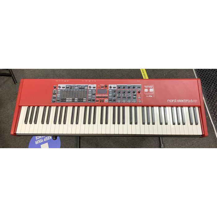 B Stock Nord Electro 6 HP 73-Note Hammer Action Keyboard Top
