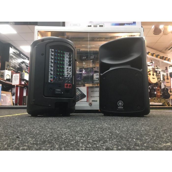 Rear View of B-Stock Yamaha StagePas 600BT PA System