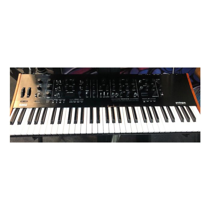 B Stock Korg Prologue 16 Synthesizer Top View