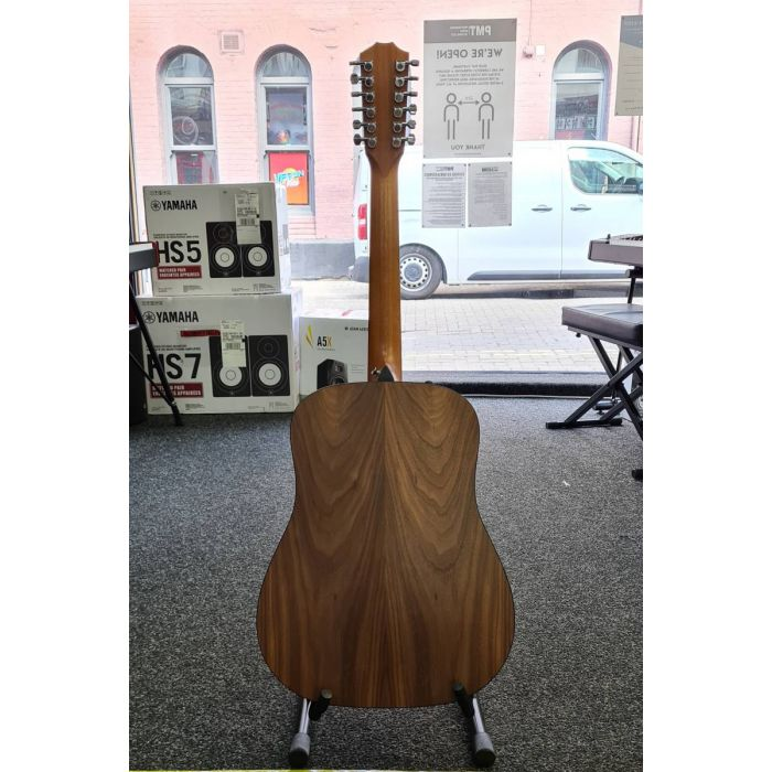 Back of B-Stock Taylor 150e 12-String Electro-Acoustic Guitar