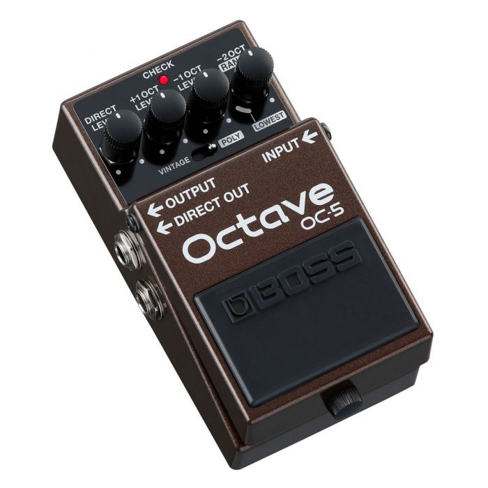 Angled Boss OC-5 Octave Pedal