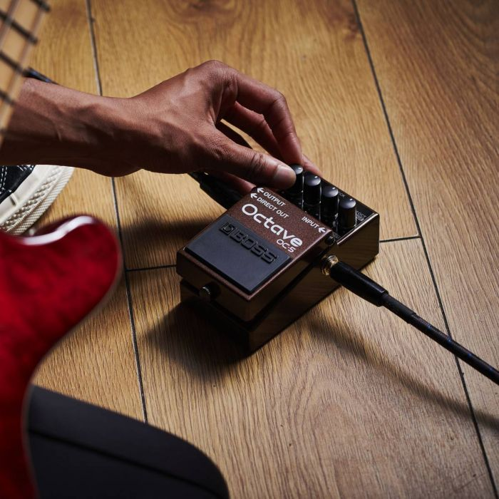 Boss OC-5 Octave Pedal In Use