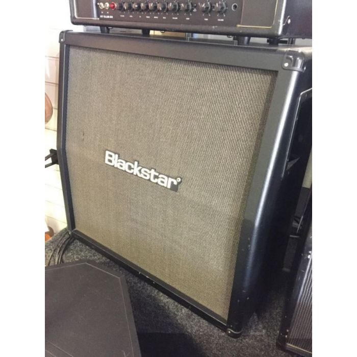 Front left angled view of a B Stock Blackstar ID412A Angled Cab