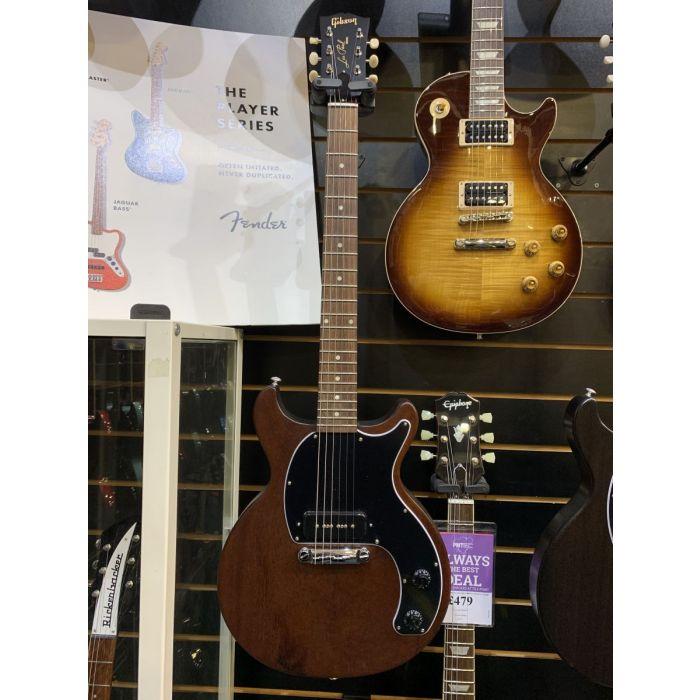 B-Stock Gibson Les Paul Junior Tribute DC Worn Brown