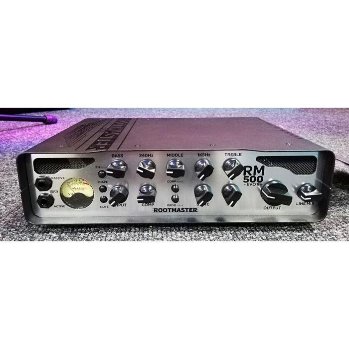 B-Stock Ashdown RM-500-EVO II 500w Bass Head Front Angle View