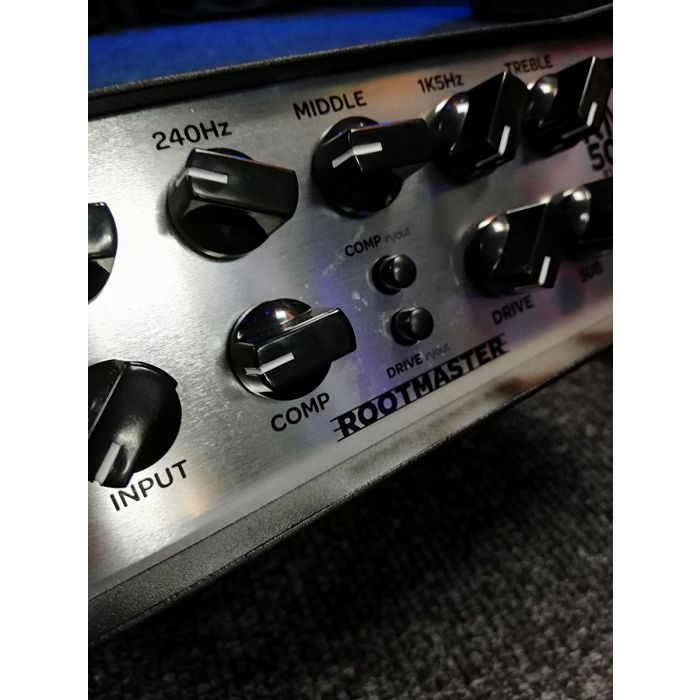 B-Stock Ashdown RM-500-EVO II 500w Bass Head Angled Front View