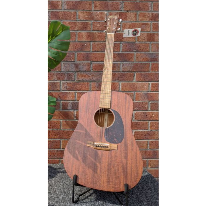 Full frontal view of a B-Stock Martin D-15M Acoustic