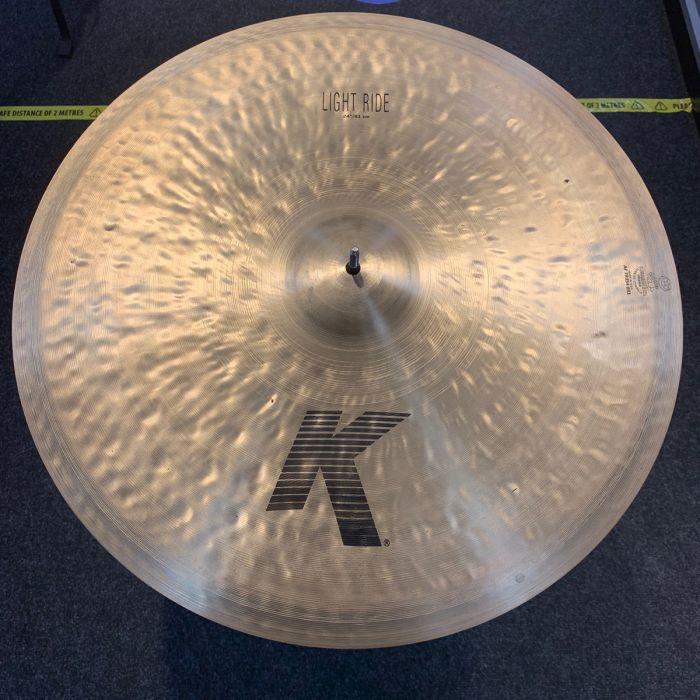 B-Stock Zildjian K 24 Light Ride Cymbal Top View