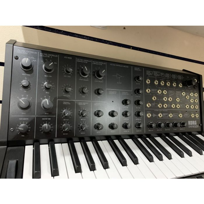 Closer View of Pre-Loved Korg MS20 Mini Synth