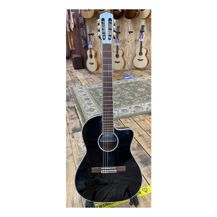 Pre Loved Cordoba Fusion 14 Classical Guitar Full Front