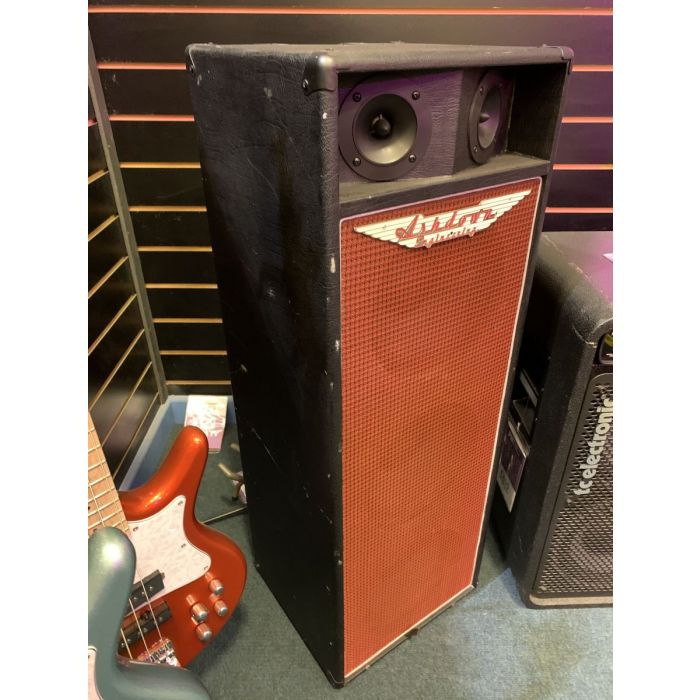 Left Side of Pre-Loved Ashdown CL-310 550w 3x10 Bass Cabinet