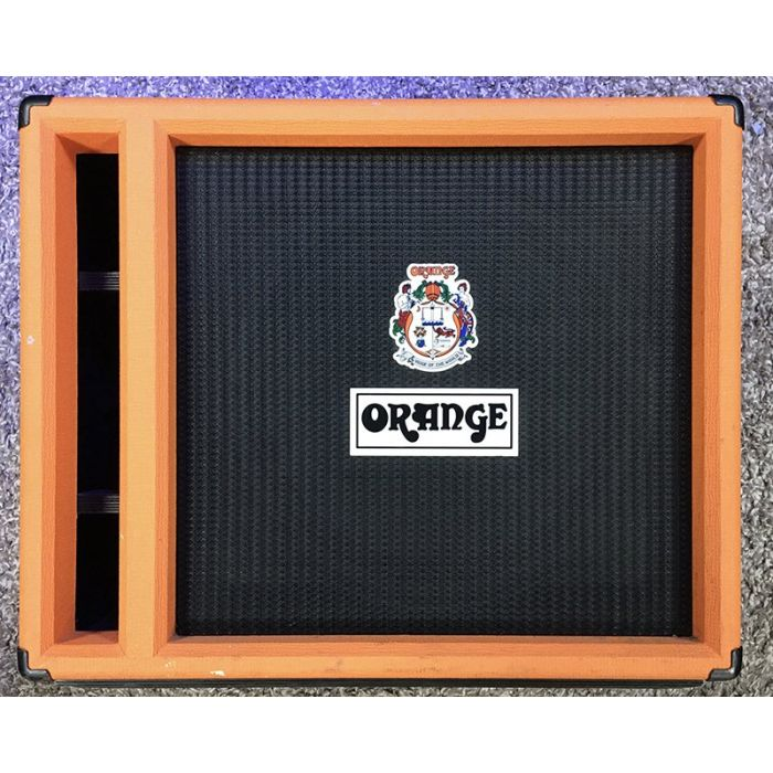 Pre-Loved Orange Obc115 Bass Cab Front View