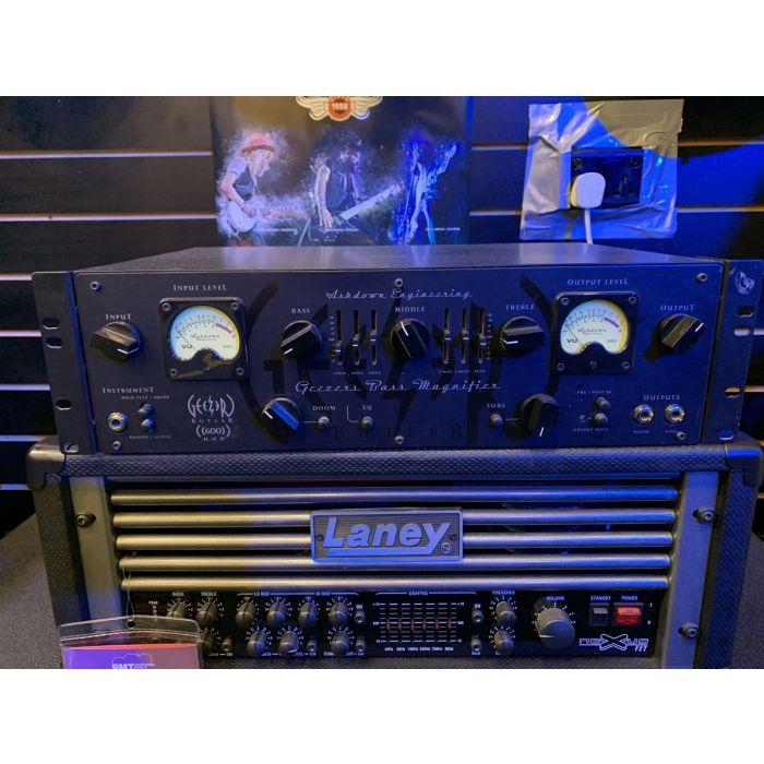 Pre-Loved Ashdown Geezer Butler Head of Doom Signature Bass Amp Head