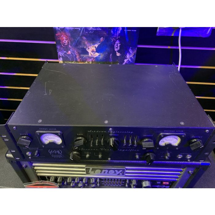 Angled View of Pre-Loved Ashdown Geezer Butler Amp Head