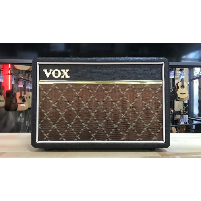 Full frontal view of a B Stock Vox Pathfinder 10w Combo Amplifier