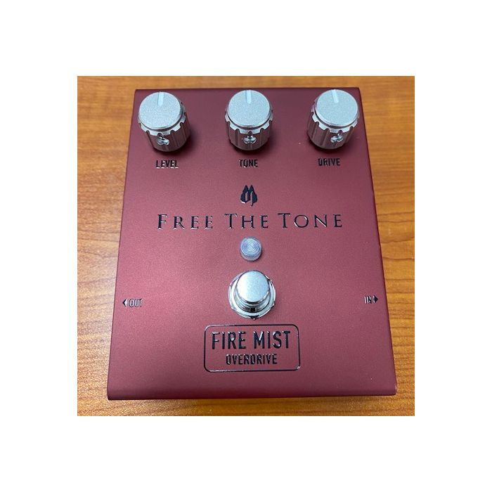 Pre-Loved Free The Tone Fire Mist Pedal Top View