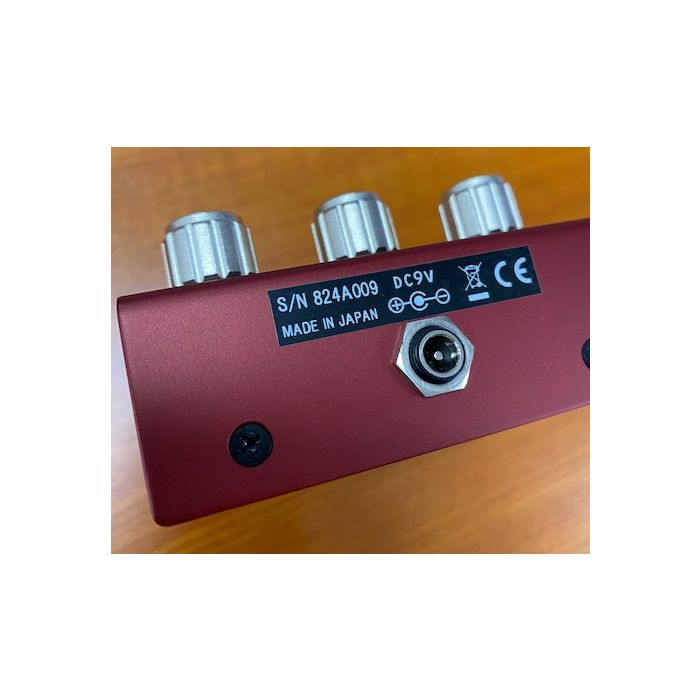 Pre-Loved Free The Tone Fire Mist Pedal Back View