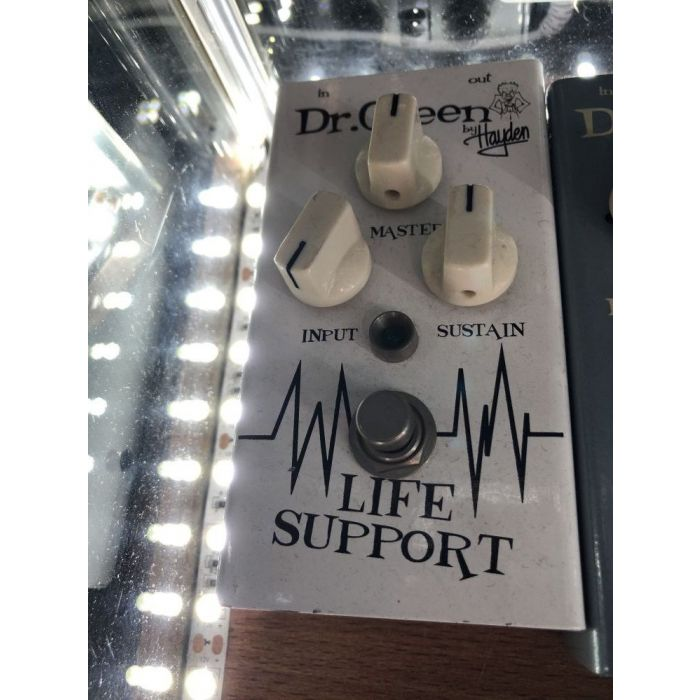 Top-down view of a B-Stock Dr. Green Life Support Compressor Pedal