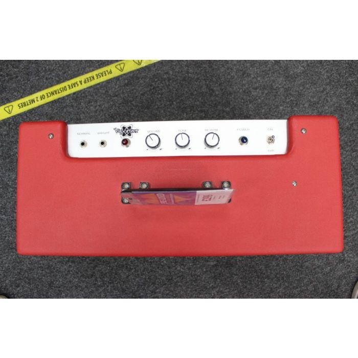 Top of Pre-Loved Fender Vaporiser Valve Amp