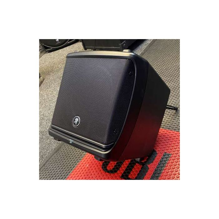 Angled View of Pre-Loved Mackie DLM8 PA Speaker