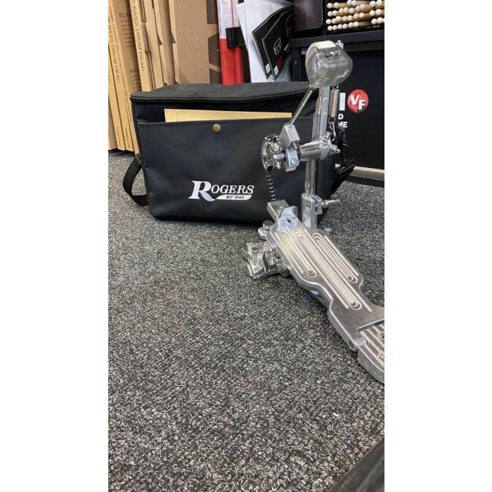 Pre-Loved Rogers Drums RP100 Dyno-Matic Kick Drum Pedal with Bag
